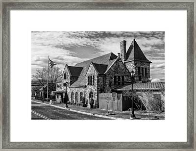 Gandy Dancer Framed Print