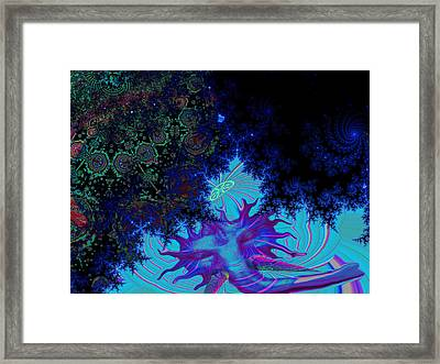 Ganesh Blessings Framed Print by Jason Saunders