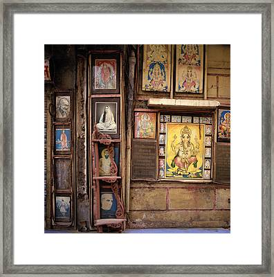 The Icons Of India Framed Print by Shaun Higson