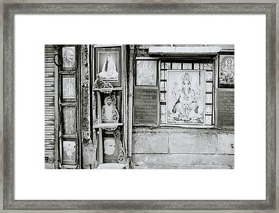 The Indian Street Framed Print by Shaun Higson
