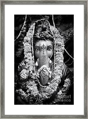 Ganesha Altar  Framed Print by Tim Gainey