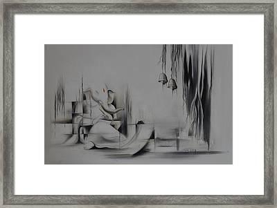 Ganesha Anantachidrupamayam Framed Print by Durshit Bhaskar
