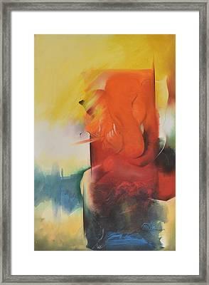 Ganesha Devendrashika Framed Print by Durshit Bhaskar