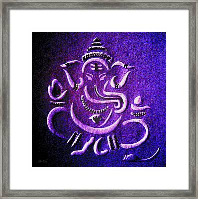 Ganesha Ganpathi Framed Print