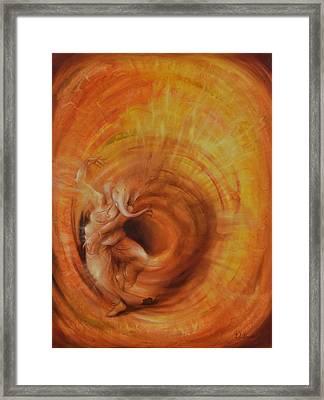 Ganesha Sarvadevatman Framed Print by Durshit Bhaskar