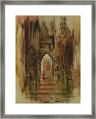 Ganesha Swaroop Framed Print by Durshit Bhaskar