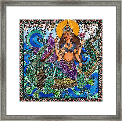 Ganga Framed Print by Melissa Cole