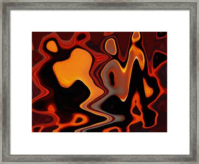 Intercommunications Framed Print by Steve K