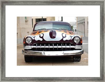 Gangster Car Framed Print by Jt PhotoDesign