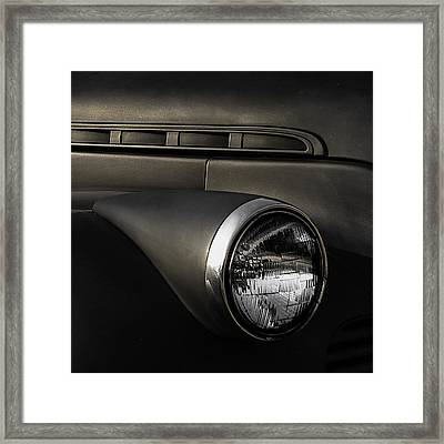 Gangster Mobile Framed Print