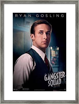 Gangster Squad Gosling Framed Print