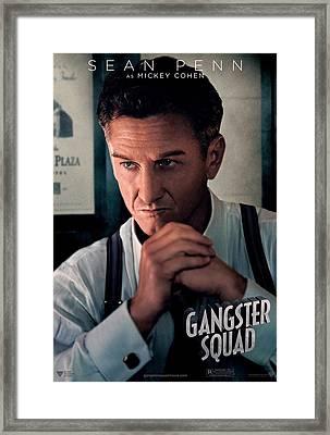 Gangster Squad Penn Framed Print