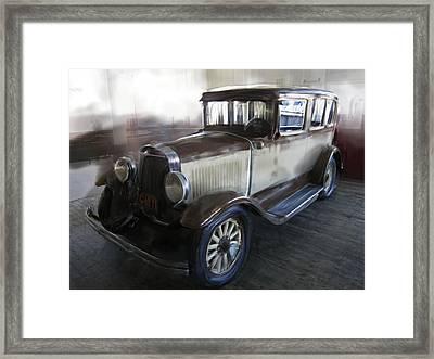 Gansgter Era Automobile Framed Print