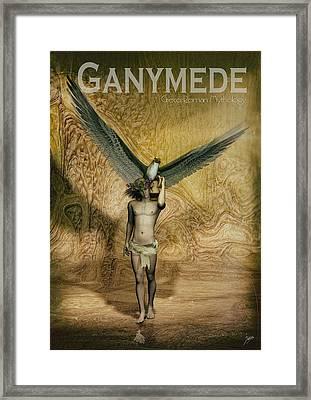 Ganymede Framed Print by Quim Abella