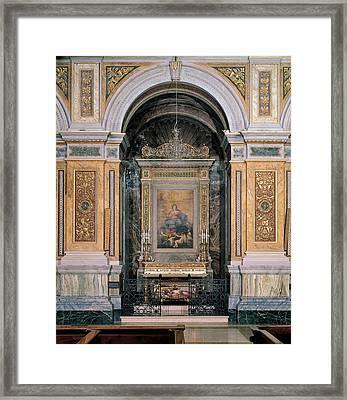 Gaolio Giovanbattista, Drawing Crotta Framed Print by Everett