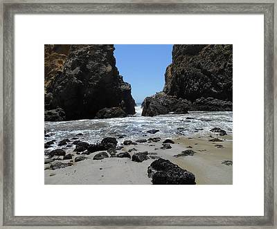 Gap Framed Print