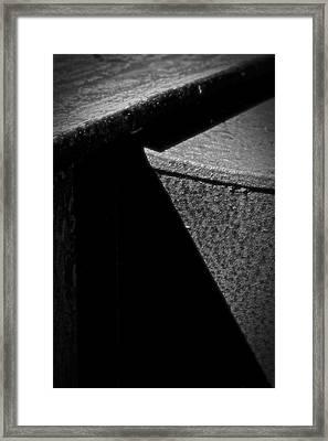 Gap Framed Print