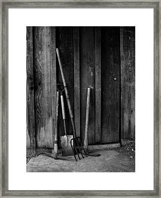 Gapo's Tools Framed Print