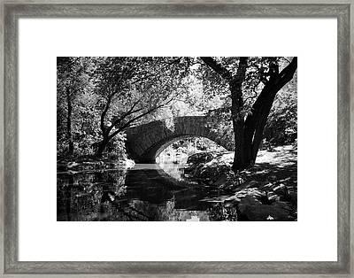 Gapstow Bridge Framed Print