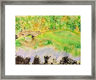 Gapstow Framed Print