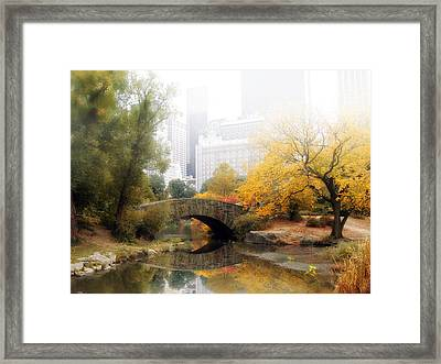 Gapstow In The Mist Framed Print by Jessica Jenney