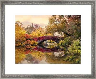 Gapstow In The Park Framed Print by Jessica Jenney
