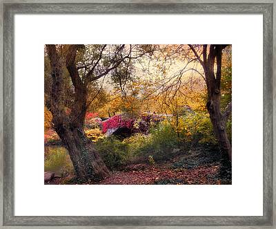Gapstow Secluded Framed Print by Jessica Jenney
