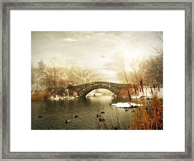Gapstow Winter Framed Print by Jessica Jenney