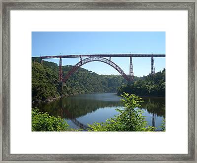 Garabit Viaduct Framed Print by Tommy Budd