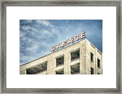 Garage Framed Print by Scott Norris