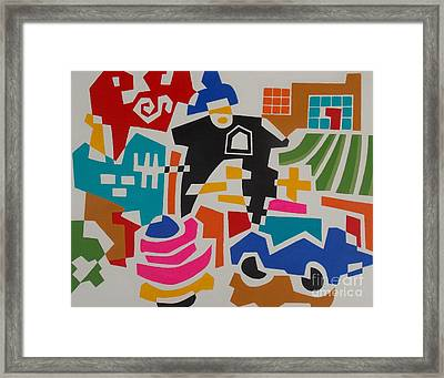Garage Framed Print by Stephen Davis