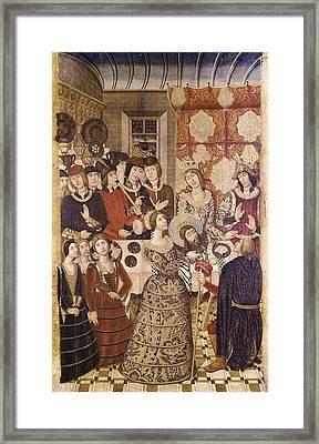 Garcia De Benabarre, Pedro  -1496 Framed Print by Everett