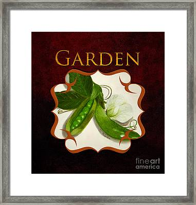 Gardeing Gallery Framed Print by Iris Richardson