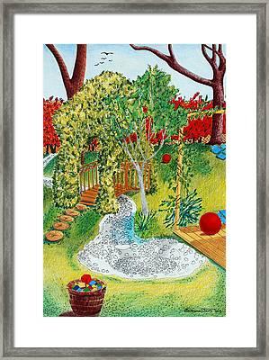 Garden # 1 Framed Print