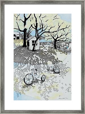 Garden # 3 Framed Print