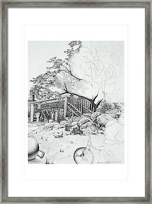 Garden # 4 Framed Print