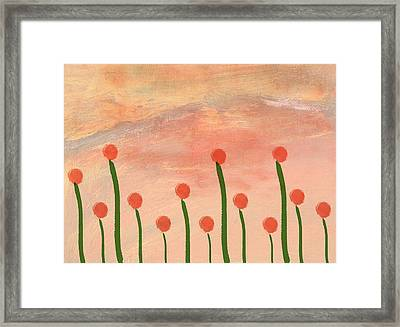 Garden Framed Print by Aged Pixel