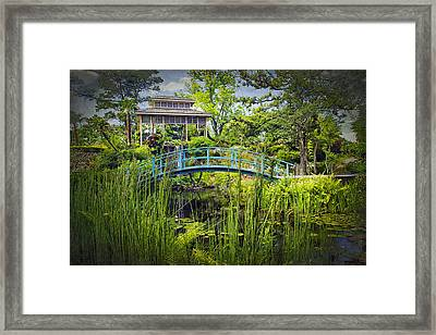 Garden At Houmas House Plantation La Dsc04584 Framed Print by Greg Kluempers