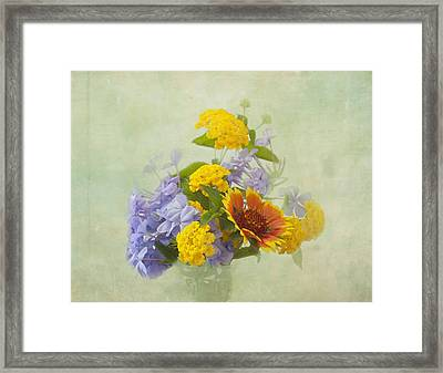Garden Bouquet Framed Print by Kim Hojnacki
