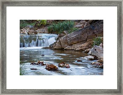 Garden Canyon Framed Print by Beverly Parks