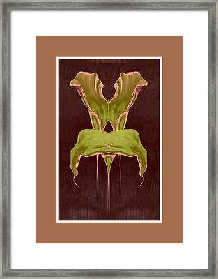 Garden Chair Framed Print