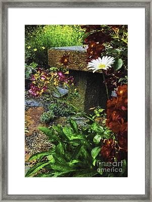 Garden Color Framed Print