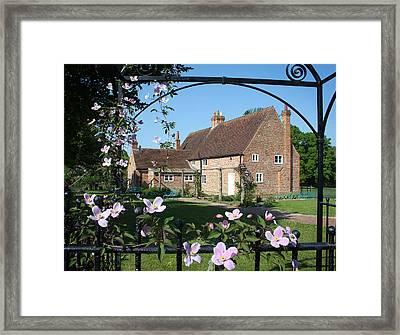 Garden  Cottage Framed Print by Stephen Norris