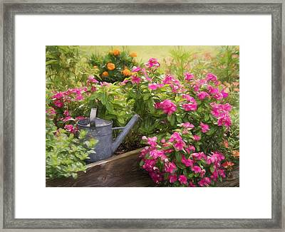 Garden Delight Framed Print by Kim Hojnacki
