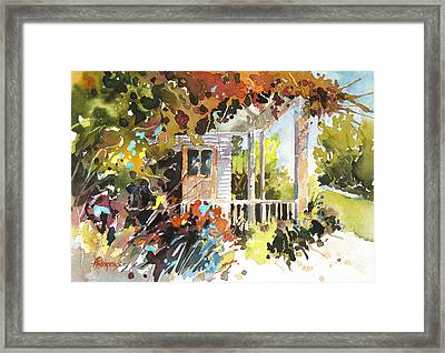 Garden Delight Framed Print