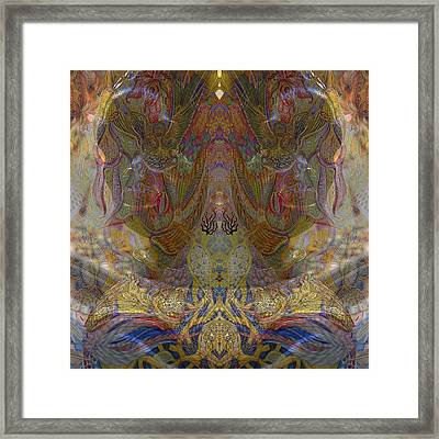 Garden Framed Print by Ellie Perla