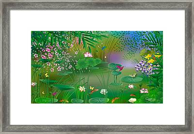 Garden - Limited Edition 1 Of 20 Framed Print