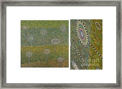 Garden Framed Print by Grass Hopper