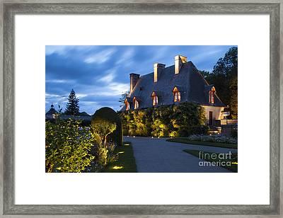 Garden House Framed Print