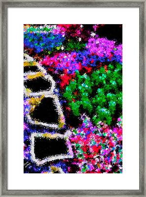 Garden In The Front Yard Framed Print by Bruce Nutting